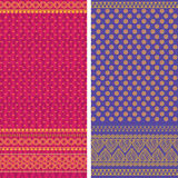 Sari Design Stock Foto's