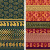 Sari Design Stock Images
