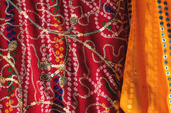 Sari Details Royalty Free Stock Photos