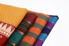 Sari Fabric Stock Photography