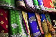 Sari fabric Royalty Free Stock Photo