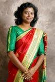 Sari oder Saree Lizenzfreies Stockfoto