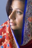 Sari Portrait Detail Royalty Free Stock Photos