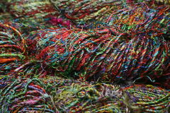 Sari Silk Yarn Stock Photos
