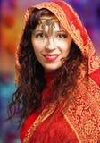 Sari style portrait Stock Photo