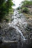 Sarika瀑布泰国Pation公园 免版税库存照片