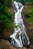Sarika waterfall Stock Image