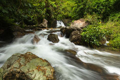Sarika Waterfall_2 Royaltyfri Foto