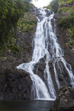 Sarika waterfall in Thailand Royalty Free Stock Image
