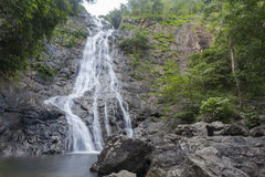 Sarika waterfall in Thailand Stock Images
