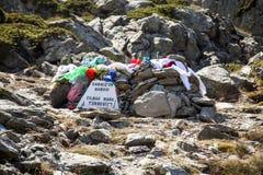 Sarikiz święte miejsce w górze ida, Edremit, Turcja zdjęcia royalty free