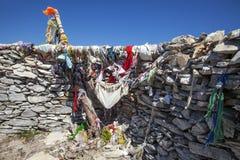 Sarikiz-heilige Stätte im Berg IDA, Edremit, die Türkei lizenzfreie stockbilder