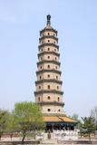 Sarira pagoda at Chengde mountain resort Stock Image