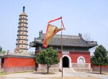 Sarira pagoda at Chengde mountain resort Stock Photos