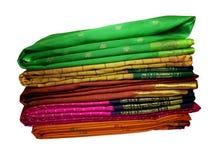saris en soie Photographie stock libre de droits