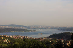 Sariyer The Bosphorus Istanbul panorama Stock Photos