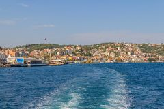 Sariyer - part of Istanbul Royalty Free Stock Photography