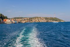 Sariyer - part of Istanbul Royalty Free Stock Images