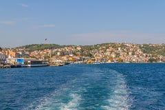 Sariyer - Teil von Istanbul Lizenzfreie Stockfotografie