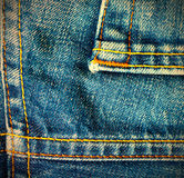Sarja de Nimes do azul do vintage Fotografia de Stock