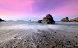 Sark, залив Les Auteles стоковая фотография