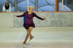 Sarka Tomkova - patinaje artístico Fotos de archivo