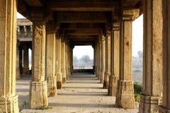 Sarkhej na Roja filary, Ahmedabad, India Obrazy Royalty Free
