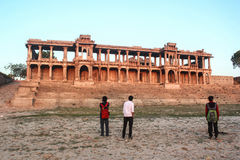 Sarkhej Roja, Ахмадабад, Индия Стоковое Фото