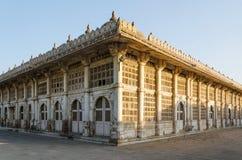 Sarkhej Roza meczet w Ahmedabad, Gujarat Zdjęcie Stock