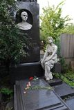 Sarkizova-Serazini的索菲娅坟墓在Novodevichy公墓的在莫斯科 库存图片