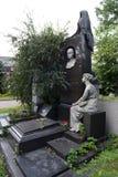 Sarkizova-Serazini的索菲娅坟墓在Novodevichy公墓的在莫斯科 图库摄影