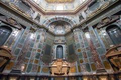 Sarkofag av Cosimo II i det Medici kapellet, Florence, Italien Arkivfoton