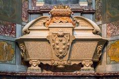 Sarkofag av Cosimo II i det Medici kapellet, Florence, Italien Royaltyfria Foton