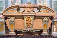 Sarkofag av Cosimo II i det Medici kapellet, Florence, Italien Royaltyfri Foto