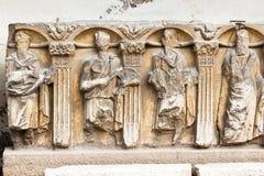Sarkofag i Konya det arkeologiska museet Fotografering för Bildbyråer