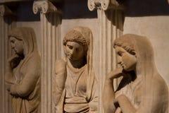 Sarkofag Płacz Kobiety Obraz Royalty Free