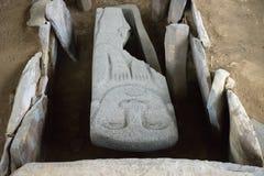 Sarkofag zbliżenie w Kolumbia Fotografia Stock
