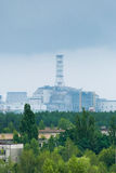Sarkophag der vierten Einheit der Kernkraft Tschornobyls Lizenzfreie Stockbilder