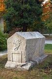 Sarkophagsgrab, Bosnien und Herzegowina Stockfotos