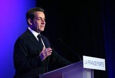 sarkozy法国尼古拉斯的总统s 免版税库存照片