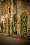 Sarlat. A street Sarlat Dordogne France Royalty Free Stock Photo
