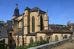 Sarlat Cathedral - Sarlat - France Stock Images