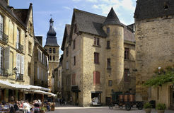 Sarlat - Dordogne - France. The Medieval town of Sarlat in the Dordogne region of France stock photo