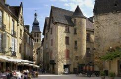 Sarlat - Dordogne - la Francia Fotografia Stock