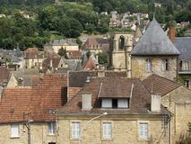 Sarlat village Stock Image