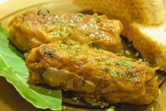 Sarmale, cucina tradizionale rumena Immagini Stock Libere da Diritti
