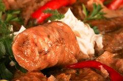 Sarmale, Romanian cuisine, stuffed cabage. Stuffed cabbage, Romanian traditional dish (called Sarmale in Romanian Stock Photography