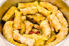 Sarmale romanian Eastern Europe traditional food Royalty Free Stock Photos