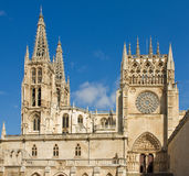 Sarmental Facade of Burgos Gothic Cathedral. Spain Royalty Free Stock Image