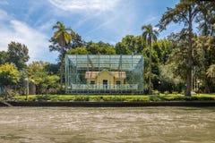 Sarmiento-Haus-Museum - Tigre, Buenos- Airesprovinz, Argentinien Stockbild